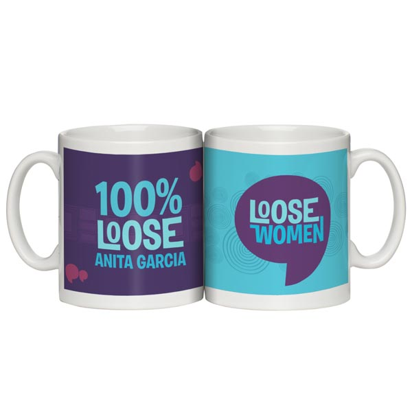 Personalised Loose Women Attitude Mugs 100% Loose - Women Gifts