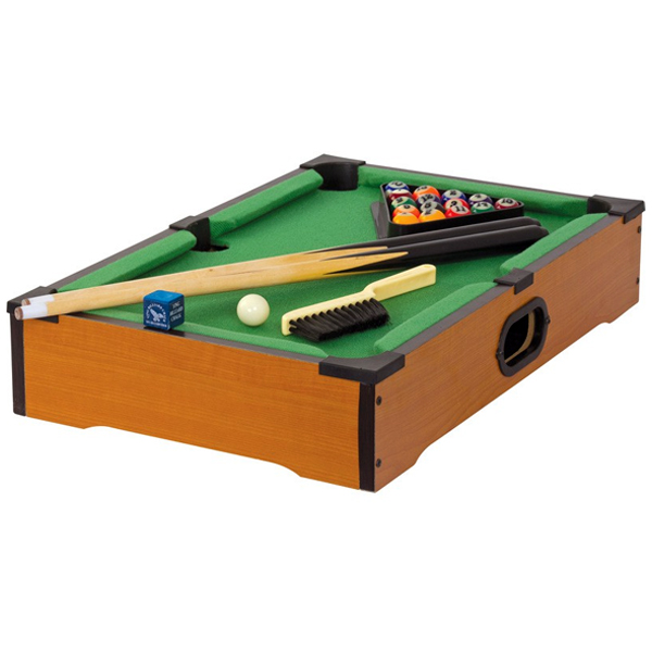Wooden Table Top Pool - Pool Gifts