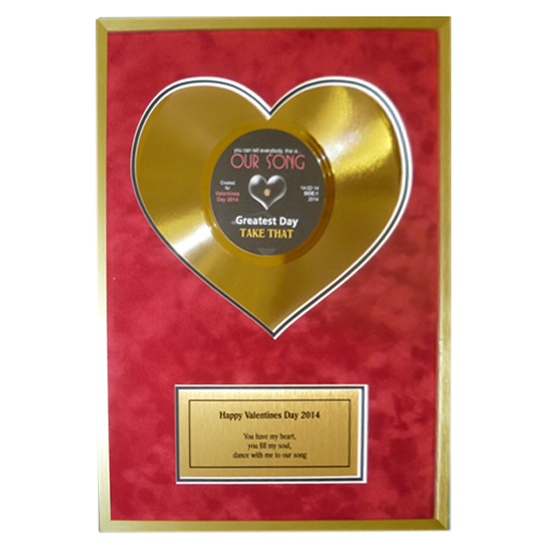 Heart of Gold 10 Disc with Personal Message