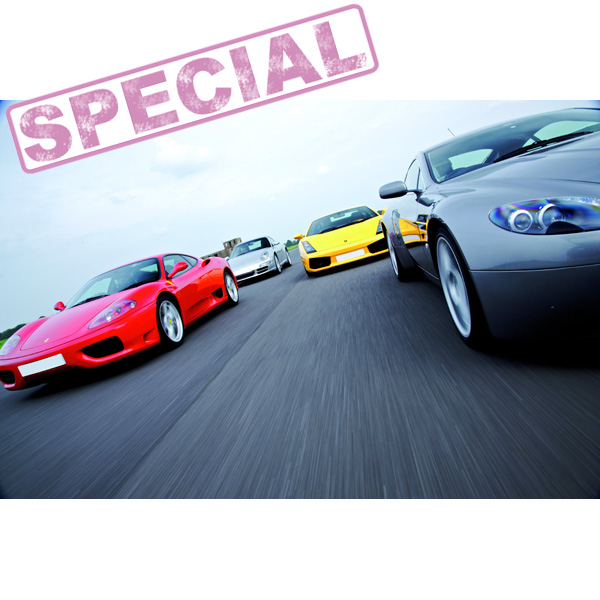 Fantastic Four Driving Experience Special Offer - The Gift Experience Gifts