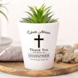 Personalised Godfather Plant Pot