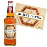 18th Birthday Personalised Bottle of Beer