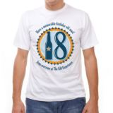 18th Birthday Personalised T-Shirt