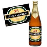 21st Birthday Personalised Bottle of Cider