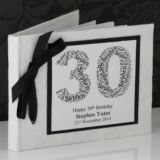 Personalised Birthday Photo Album - Number Design