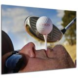 Personalised Golf Tee Poster