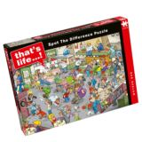 That's Life Spot The Difference Bar Bedlam Jigsaw Puzzle