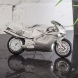 Motorbike Miniature Clock