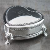 Antique Heart Trinket Box