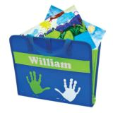 Personalised Blue & Green Art Folder