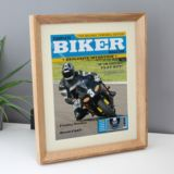 Personalised Biker Magazine Framed Print