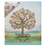 Birthday Signing Tree Canvas