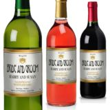 Bride and Groom Personalised Wine