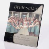 Engraved Bridesmaid Photo Frame