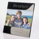 Engraved Brother Photo Frame