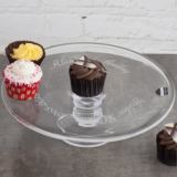 Dartington Glass Personalised English Country Cake Stand