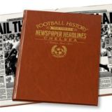 Personalised Chelsea Football Book
