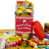 Personalised Lolly May Christmas Sweet Jar