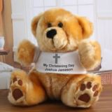 Personalised Christening Teddy Bear
