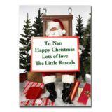 Christmas Message On a Jigsaw