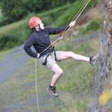 Climbing and Abseiling Combo in Gwynedd