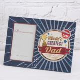 Worlds Greatest Dad Photo Frame