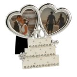 Diamond Anniversary Wedding Cake Photo Frame