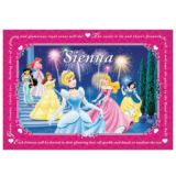 Disney Princess Personalised Placemat