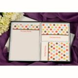 Dotty Personalised Thank You Stationery