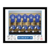 Personalised Chelsea Dressing Room Framed Photo