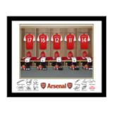 Personalised Arsenal Dressing Room Framed Photo
