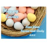 Personalised Easter Egg Jigsaw Puzzle