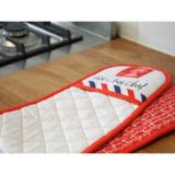 First Class Chef Oven Gloves