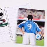 Personalised Football Image Diary