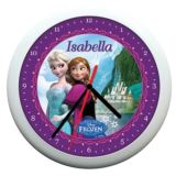 Personalised Disney Frozen Wall Clock