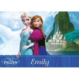 Personalised Disney Frozen Double-Sided Placemat