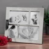 Father's Day Engraved Collage Photo Frame