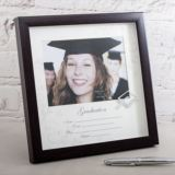 Graduation Photo Frame With Mount And Icon