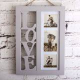 3D Love Letters Photo Frame