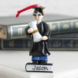 Personalised Graduate Boy Hanging Ornament