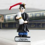 Personalised Graduate Boy Hanging Ornament
