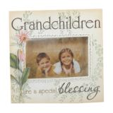 Grandchildren are a Special Blessing Photo Frame