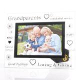Grandparents Glass Photo Frame