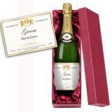 Groom Personalised Champagne