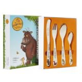 The Gruffalo 4 Piece Personalised Children's Cutlery Set