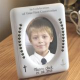 First Holy Communion Handpainted Photo Frame
