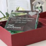 25th (Silver) Anniversary Keepsake