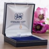 Rose Gold Guardian Angel Pendant In Personalised Gift Box