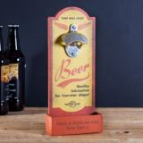 Personalised Keep Well Oiled Beer Bottle Opener