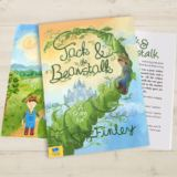 Personalised Jack and the Beanstalk Book Softback